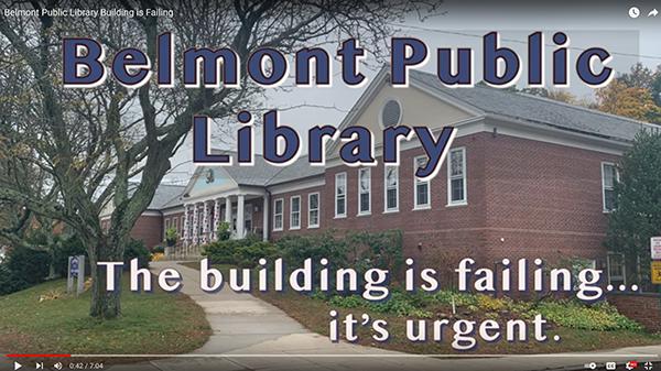 Video: Belmont Public Library Building is Failing